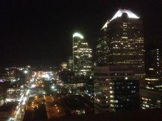 Calgary by night