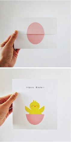 Cutest Easter card idea