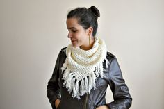 Crochet shawl with an attitude!