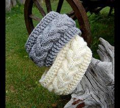 Hottest Free of Charge hand knitting socks Style Knitted Headband, Hand knit head band, Knitted Ear Warmer, Hand knit hair access… Crochet Turban, Knit Headband Pattern, Knitted Headband, Crochet Shawl, Crochet Baby, Knitted Hats, Knit Crochet, Chunky Crochet, Knitting Blogs