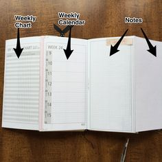printable traveler's notebook project planner - Google Search