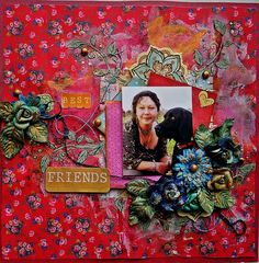 """""""Best Friends"""" by Evelyn Walter - C'est Magnifique May 2015 Kit"""