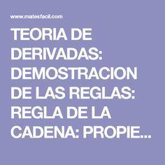 DERIVADA DE FUNCIONES TRIGONOMETRICAS COMPUESTAS. ( REGLA DE LA ...
