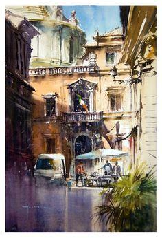 art paint akwarela watercolour