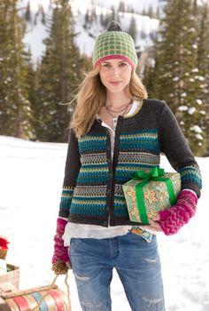 Katrina Cardigan - A cozy lambswool/nylon cardigan unlike any you've ever seen.