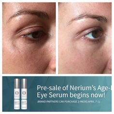 Nerium Eye Serum...30 second results! Visit my website to place an order Www.tammijmartin.nerium.com