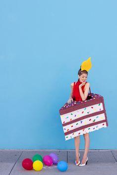 Birthday Cake Costume DIY