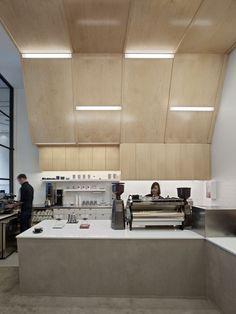 Coffee Bar Montgomery Street | jones | haydu | Archinect