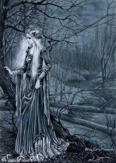 Victoria Frances art, gothic art
