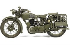 I'm sometimes dumbfounded by the relatively inexpensive nature of some of the historic motorcycles that come up...1944 Norton 490cc Model 16H Military...