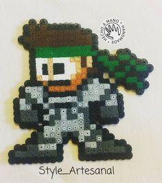 You'd like this one by style_artesanal #retrogaming #microhobbit (o) http://ift.tt/1LQykZu #metalgearsolid #snake de #hamabeads  #style_artesanal #style #perlerbeads #pyssla #malaga #art #pixelart #pixel #artesanal #handmade #desing #creative #hechoamano #sigueme #8bit #friki #megusta #perler #beads #ironbeads #fusebeads #followme #videogames  #playstation
