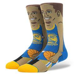 Stance - S. Curry Men's Socks, Blue