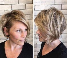 Side-swept look by Hair Do Salon
