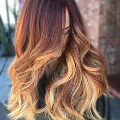 I have no words!!! Not one strand of hair that isn't hers..This awesome sunset haircolor speaks for itself!! I'm so in love ❤️. Serious #hairgoals Thank you @sippyann for letting me tame and paint those amazing LushLøx! A #balayage with #olaplex 1 in the mix keeping that mane nice and healthy. #balayagedandpainted #hairinspo #colortrak @colortrak #haircolor #americansalon #modernsalon #behindthechair #authentichairarmy #btcpics #maneaddicts @modernsalon @american_salon @olaplex @beau...