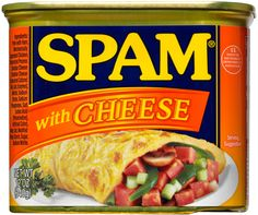 SPAM® with Cheese; I didn't think it could git better, but it just did.