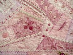 I ❤ crazy quilting & embroidery . . . Block From My Crazy Quilt Block of the Month Class. ~By Dean Deerfield