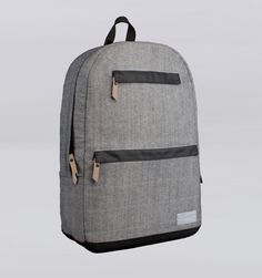 "Hex Source 15"" MacBook Pro backpack in Academy Grey Denim."