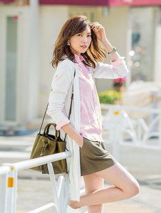 コレさえ守れば「こなれ見え」簡単でおしゃれな着こなしテク3つ♡ | with 2015年7月号 | iQON(アイコン)