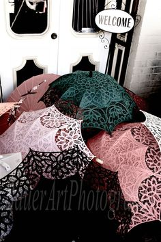 Parasols and the Hidden Mask  Old Sacramento Fine Art by bauerart, $22.00