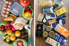 """In diesem Beitrag möchte ich Dir zeigen, in wie weit es möglich ist, in einem """"normalen"""" Supermarkt verpackungsfrei einzukaufen."""