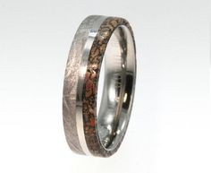 Ring Made From a Meteorite And Dinosaur Bone Is Here To Make Your Rings Feel Unworthy