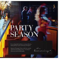Playboy Club London Christmas Brochure 2015