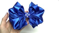 DIY crafts How to Make Beauty Easy Bow/ Ribbon Hair Bow Tutorial /DIY ribbon bow/DIY beauty and easy - YouTube