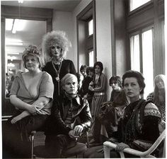 Brigid Berlin, Candy Darling, Andy Warhol and Ultra Violet