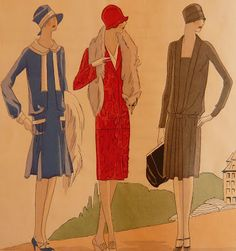 LOST IN THE 50's: 20's fashion
