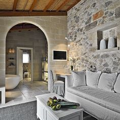 Designed by Paolo Fracasso in 2013, this amazing luxurious mediterranean hotel is situated in Martano, Italy.