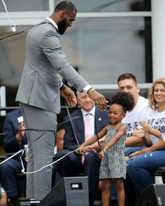 The I Promise School in Akron, which opened this week for third and fourth graders, features long days, a longer school year, and free lunch. Lebron James And Wife, Lebron James Family, Lebron James Lakers, Daddys Princess, Daddys Girl, Love And Basketball, Basketball Players, Dad Baby, Little Girls
