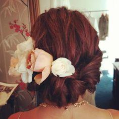 #ヘアアレンジ#ヘアセット#ヘアメイク#ヘア#bridal#ブライダル#hair#wedding#編み込み#トリートドレッシング