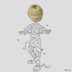 Are you ready for #Halloween?  #mummy #ghost #candy #art #illustration #drawing #draw  #picture #artist #sketch #sketchbook #paper #pen #pencil #artsy #instaart #beautiful #instagood #gallery #masterpiece #creative #photooftheday #instaartist #graphic #graphics #artoftheday