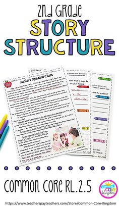Are you looking for a way to teach your second graders story structure? This packet of reading comprehension passages will help your graders master Common Core Standard 2nd Grade Ela, 2nd Grade Writing, 2nd Grade Classroom, 3rd Grade Reading, Second Grade, Grade 2, Reading Comprehension Passages, Comprehension Strategies, Reading Strategies