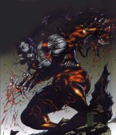 Ripclaw from Cyberforce in Image Comic's Top Cow Productions by Marc Silvestri.