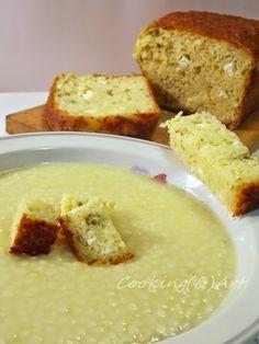 Μαγειρική και Τέχνη... ή η Τέχνη της Μαγειρικής Bread Recipes, Cooking Recipes, Feta, Cornbread, French Toast, Herbs, Favorite Recipes, Cheese, Breakfast