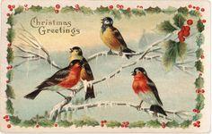 Bicheler, el blog de Bris.: Colección de tarjetitas navideñas ...