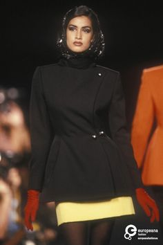 Yasmeen Ghauri - Lanvin, Autumn-Winter 1990, Couture