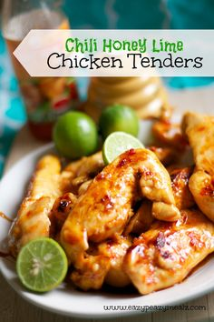 chili honey lime chicken tenders