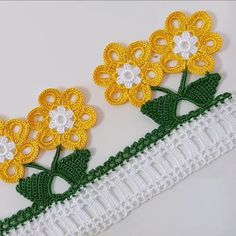 Crochet Flower Tutorial, Crochet Lace Edging, Filet Crochet, Crochet Flowers, Baby Knitting Patterns, Crochet Earrings, Projects To Try, Tatoos, Crochet Dishcloths