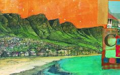 Cape Town - An Illustrated Poem | Julia Mary Grey