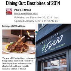 Best Bites of 2014 Lamb Chops, Washington State, Restaurant, Beef, Dining, Food, Meat, Diner Restaurant, Essen