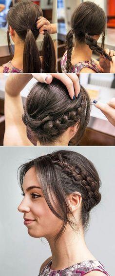 Party Hairstyles - Peinados para Fiestas                                                                                                                                                                                 Más