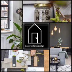 Collage wooninspiratie Flip Clock, Stone, Interior Design, Home Decor, Nest Design, Rock, Decoration Home, Home Interior Design, Room Decor