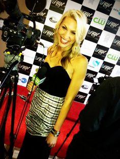 CW Star Taylor Ellison wearing a Leighelena cuff!