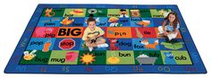 Rhyme Time Rug Factory Second 8'4 x 13'4 Rectangle