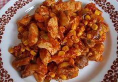 Kuřecí tandoori směs se zeleninou Kung Pao Chicken, Shrimp, Meat, Ethnic Recipes, Petra, Asia