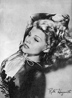 Rita Hayworth inMovie Stars Parade magazine, 1943