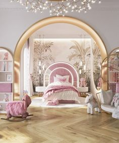 Magical Bedroom, Room Inspiration, Design Inspiration, Villa, Luxury Girl, Top Interior Designers, Top Designers, Loft, Modern Bedroom