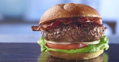 Grill up this delicious Burgundy Steak Burger. Preps in just 10 and cooks in just 10! Serves 4-6. Made with Better Than Bouillon® Roasted Beef Base.